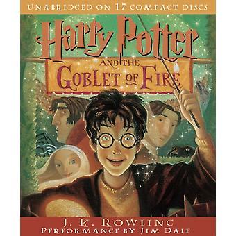 Harry Potter e o Cálice de Fogo por J K Rowling & Read por Jim Dale