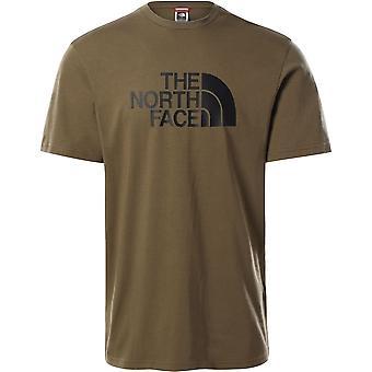 ノースフェイスイージーT92TX337UユニバーサルメンTシャツ