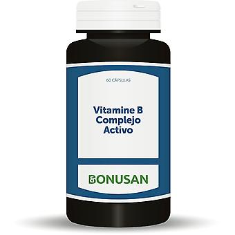 Отель Complejo Bonusan Vitamina B «Активо» 60 Cápsulas Vegetarianas