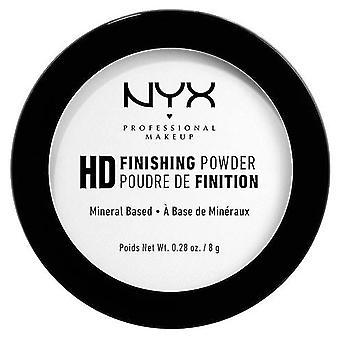 NYX  Hd Endbearbeitungspulver Mineral Polvo Gesichtsbehandlung durchscheinend 8 gr