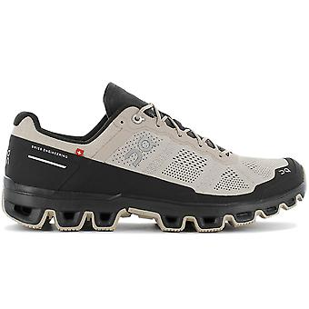 ON Running Cloudventure - Men's Trail Running Shoes Beige Black 22.99763 Sneakers Sports Shoes