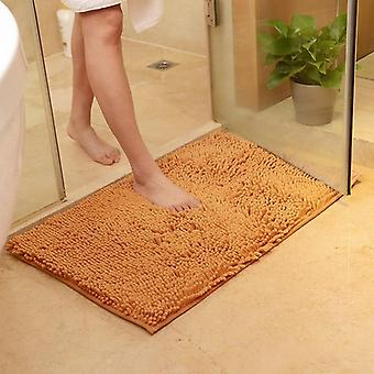 Soft Chenille Bath Mats, Non Slip Mat Rug For Home Living Room Kitchen Room