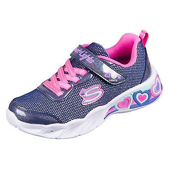 Skechers Sweetheart Lightsshimmers 302304LNVMT uniwersalne przez cały rok dziecięce buty