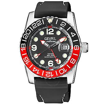 Gevril Canal St Automatic Black Dial Men's Watch 46005