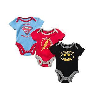 DC Comics 3-Pack Snapsuits