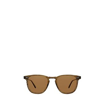 Garrett Leight BROOKS SUN olive tortoise unisex sunglasses