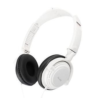 3,5 mm kablet gaming headset over-øret sport hodetelefoner musikk øretelefoner