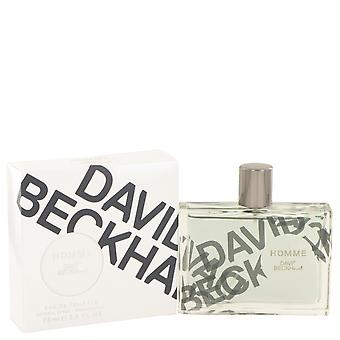David Beckham Homme by David Beckham Eau De Toilette Spray 2.5 oz