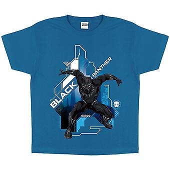 Black Panther Boys Crouch T-Shirt
