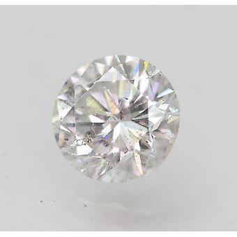 Sertifioitu 0,70 karat D VS2 pyöreä brilliant parannettu luonnollinen löysä timantti 5,62mm