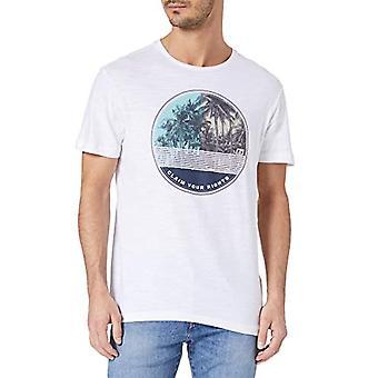 BLEND 20712052 T-Shirt, 110601_Bianco, L HYD Men's
