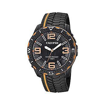 Calypso Watches Analog Watch Men's Quartz with Plastic Strap K5762/3