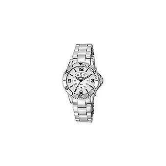 Relógio de quartzo feminino analógico radiante com cinta de poliuretano RA232201_PLATEADO