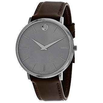 Movado Ultra Slim Grey Dial Watch - 607377