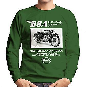 BSA Test Drive A BSA Today Men's Sweatshirt
