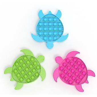 סגול נגד חרדה בועת צעצועים חושיים בצורת הפחתת לחץ סיליקון לדחוף בועות פופ מתאים x4237