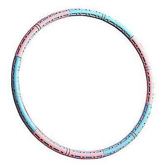 Cerceaux bleus et roses pour adultes exercice amovible conception d'assemblage multiple x7892