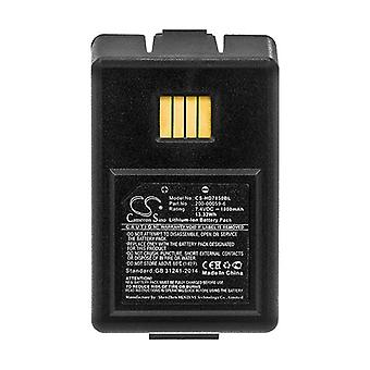 Cameron Sino Hd7850Bl Battery Replacement For Dolphin Barcode Scanner