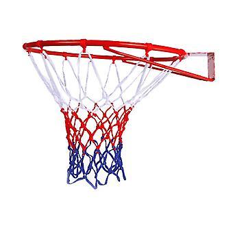 Steel Hanging Basketball Wall Basketball Rim With Screws Mounted Goal Hoop Rim Net Sports