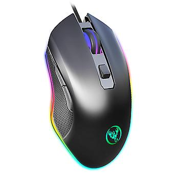 Rgb Luminous Wired Gaming Mouse 6400dpi