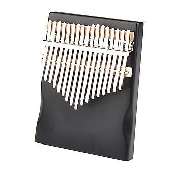 17 Näppäintä kalimba peukalo sormi piano kevyt mänty soitin kannettava musiikki elementtejä aloittelijalle