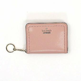 Kate Spade Dani Patterson Wallet Dusty Rose Pink Leather WLRU5274