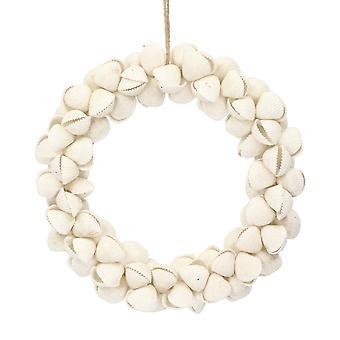 Gisela Graham 15cm pequeña concha de almeja costa floristería corona para decorar