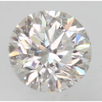 Sertifioitu 0,48 karat E VS1 pyöreä brilliant parannettu luonnollinen löysä timantti 4,83mm