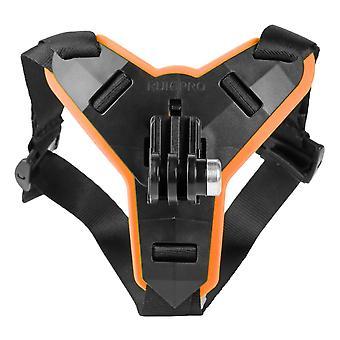 Передний подбородок кронштейн держатель штатива Крепление мотоцикла Шлем Подбородок Ремешок Крепление