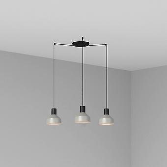 Clusterhanger Plafondlamp Grijs, E27