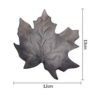 36Pcs النباتات الاصطناعية يترك الحرير القيقب أوراق الشجر وهمية أوراق الشجر الخريف جدار النبات العشب كاذبة لديكور عيد الميلاد الكلمة الرئيسية