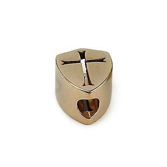 Skull Brass Knife Beads Shield Umbrella Rope Edc Lanyard Cross