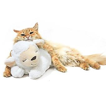 Cute Animal Shape Heartbeat Puppy Behavioral Training Toy Plush Pet Anxiety Relief Sleep Aid Doll