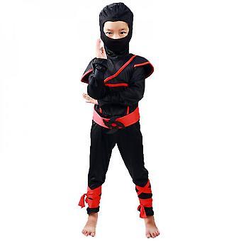 Holiday ornaments halloween costume boys and girls cosplay costume show children's halloween ninja costume