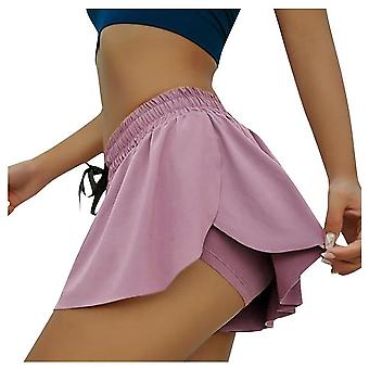 Double-layer Sport Skirts With Underwear