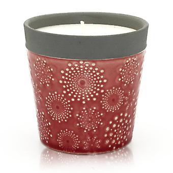 Candles home is home candle pots - rambling rose