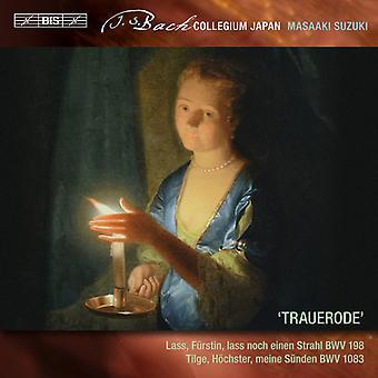 Bach, J.S. / Sampson, Carolyn / Suzuki, Masaaki - Secular Cantatas: J.S. Bach - Trauerode 6 [SACD] USA import