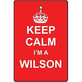 Houd kalm, ik ben een luchtverfrisser Wilson