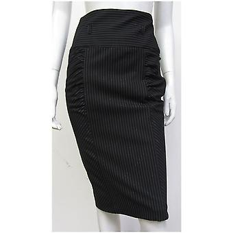 River Island Style Stripe Ruched Skirt SK081-20