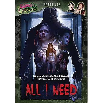 Kaikki tarpeen [DVD] Yhdysvallat tuon