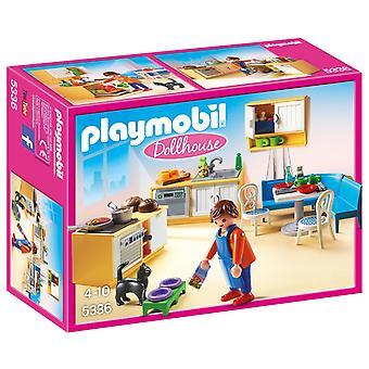 Playmobil 5336 البلد مطبخ بيت الدمية