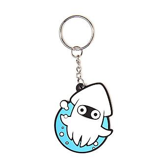 Officially licensed Nintendo Rubber Keychain Blooper Multi Colour (KE060902NTN)
