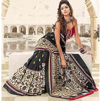 Ambay festival Diwali partij dragen Sari Sari - India