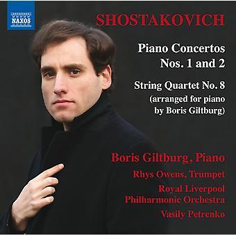 Schostakowitsch / Giltburg / Owens / Vasily Petrenko - Dmitri Shostakovich: Piano Concertos 1 & 2 [CD] USA Import