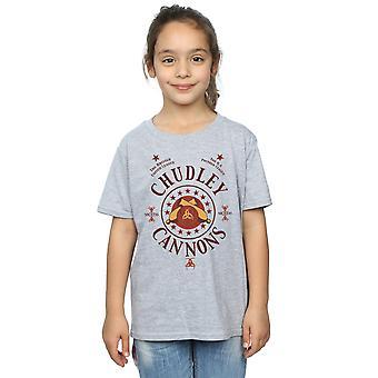 Harry Potter Girls Chudley Cannons Logo T-Shirt