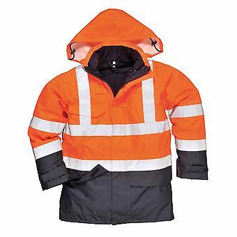 بورتويست-بيزفلامي المطر السترة السلامة-تجاه حماية متعددة