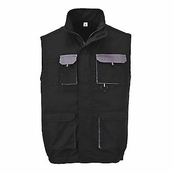Portwest - Texo Lightweight Workwear Cotton Rich Comfort Contrast Gilet