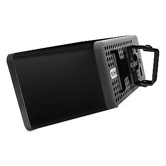 Vebos wall bracket Sonos Play 3 black 15 degrees