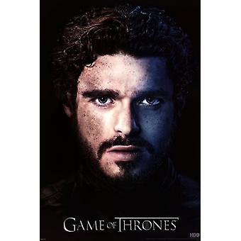 Game of Thrones - Season 3 - Robb Stark Poster Poster Print