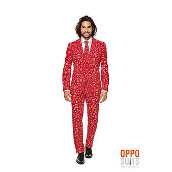 Costume de Noël Noël Iconicool Opposuit slimline Premium 3 pièces UE tailles